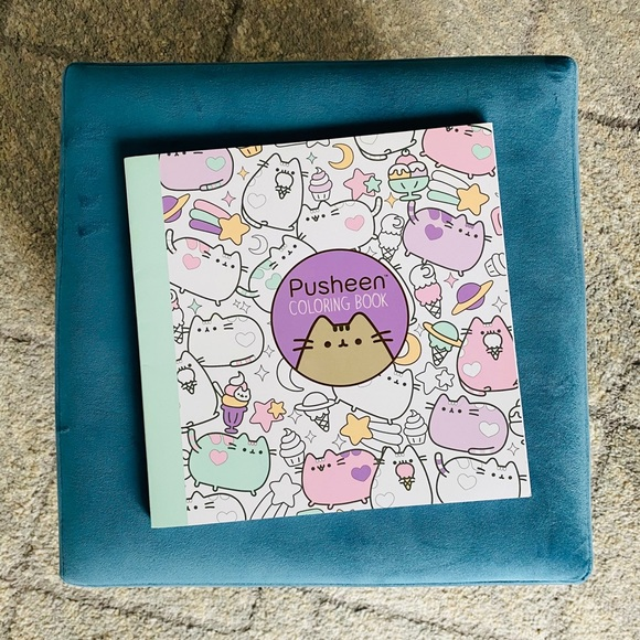 Toys Pusheen Coloring Book Poshmark